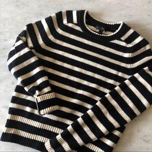 J.Crew stripe Holly sweater